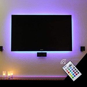 LED Strip Light for TV, Bed, or Computer Monitors